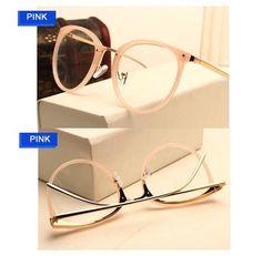 Vintage Decoration Optical Eyeglasses Frame myopia round metal men women unisex spectacles