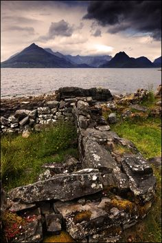 Black Cuillin mountains from Elgol, Isle of Skye