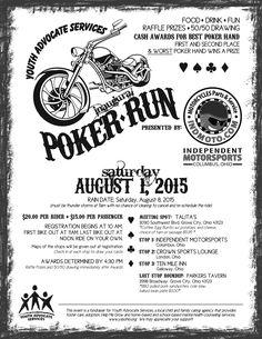 poker run score sheet - Google Search