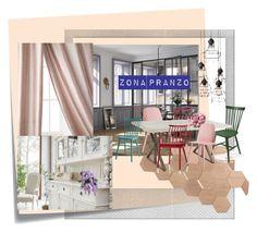 """""""Senza titolo #8"""" by donatella-lo-presti on Polyvore featuring interior, interiors, interior design, Casa, home decor, interior decorating, Post-It, Polaroid, Amity Home e Muuto"""