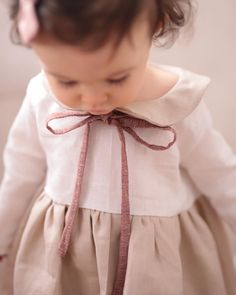 The Georgiana Dress SweetHannahBDesigns on Etsy Luxury Baby Clothes, Handmade Baby Clothes, Stylish Baby, Stylish Kids, Cute Outfits For Kids, Cute Kids, Baby Couture, Boho Baby, My Little Girl