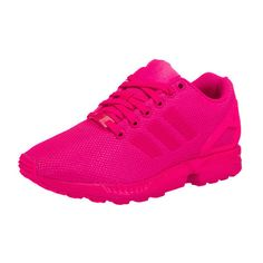 adidas Originals Zx Flux Sneakers pink ($100) ❤ liked on Polyvore featuring shoes, sneakers, adidas originals trainers, adidas originals shoes, pink sneakers, adidas originals and pink shoes