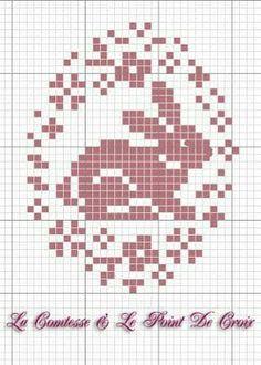 New crochet free pattern easter cross stitch ideas Cross Stitch Freebies, Cross Stitch Cards, Cross Stitch Animals, Cross Stitching, Cross Stitch Embroidery, Embroidery Patterns, Hand Embroidery, Simple Embroidery, Counted Cross Stitch Patterns