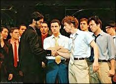 Christian Borle as Riff in the National Tour of West Side Story