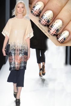 9cfd0bb56c Mulberry Fall '13 Inspired Mani Lady Fingers, Fabulous Nails, Gorgeous Nails,  Cool