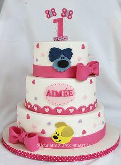 Verjaardags taart voor gasten