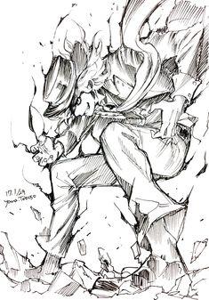 Edmond Dantes by Yana Toboso (Kuroshitsuji Mangaka Drawing Reference Poses, Drawing Poses, Manga Drawing, Figure Drawing, Manga Art, Drawing Sketches, Drawings, Croquis Drawing, Comic Drawing