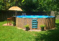 Como ter sua piscina low cost #piscina de pallet # palete # piscina de palete # piscina low cost # piscina barata #piscinas pequenas