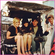 Zac Efron, Vanessa Hudgens And Ashley Tisdale In London