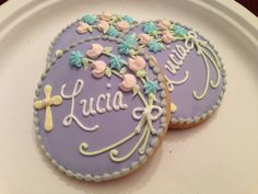 Confirmation Sugar Cookies  1 dozen by YouandMeConfections on Etsy, $36.00