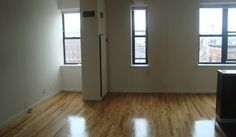 Light and Hardwood Floors. The perfect start to a New York City Apartment.