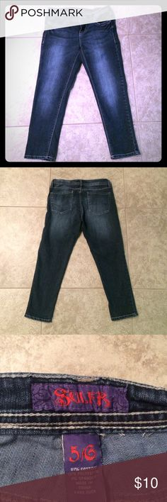 Cropped Jeans Cropped Jeans, stops around mid-shin Sulfr Jeans Ankle & Cropped