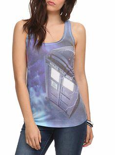 Doctor Who TARDIS Tank Top   Hot Topic