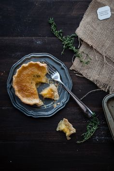 Chamomile Thyme Chess Pies