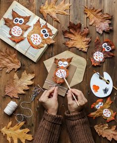Fall Arts And Crafts, Holiday Crafts For Kids, Autumn Crafts, Nature Crafts, Diy Crafts For Kids, Fall Preschool, Preschool Crafts, Toddler Fun, Toddler Crafts