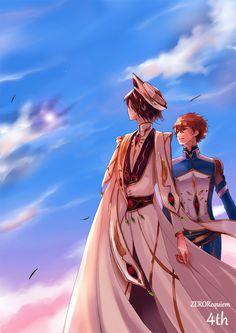 Emperor Lelouch x Knight Suzaku [Pixiv Id 4289649]