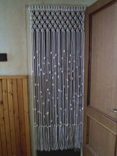 Macrame Door Curtain Room Divider Macrame door Hanging by RopeLove