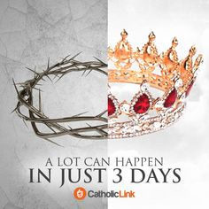 ~He is risen Good Friday Quotes, Resurrection Day, Prophetic Art, Christian Wallpaper, Crown Of Thorns, Catholic Quotes, Easter Traditions, He Is Risen, Religious Art