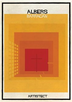 ARTISTECT: Famous Paintings With An Architectural Twist Albers - Barragan