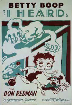 Max Fleischer - Betty Boop poster