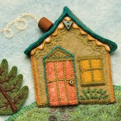 Sweet little house by Salley Mavor