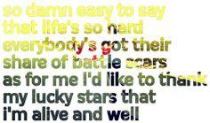 Dmb lyrics = pure amazingness.