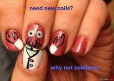 New nails, why not zoidberg