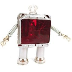 Gear Box Robots Little Red now featured on Fab.