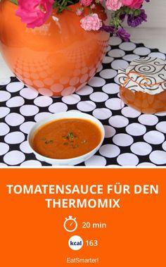 Tomatensauce für den Thermomix - smarter - Kalorien: 163 Kcal - Zeit: 20 Min. | eatsmarter.de