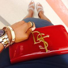 DST clutch purse