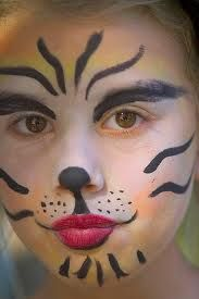 cute tiger face painting ideas pinterest painted faces and face paintings - Easy Face Painting Halloween