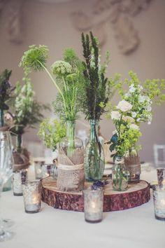 Earthy table decor | Claire Penn Photography