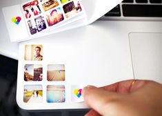 Mini Instagram Stickers by Printstagram Prinstagram is a match made in heaven for fans of the popular photo sharing app, allowing you to turn you favorite photos into stickers