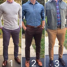 1 2 or 3? Pages to upgrade your style @stylishmanmag @shopthatgrid @dadthreads @flygrids