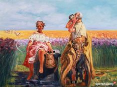 Ręcznie namalowany obraz Bajki - Jacek Malczewski Warszawa ... Artist, Painting, Image, Artists, Painting Art, Paintings, Painted Canvas, Drawings