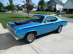 1973 Plymouth Duster(Tribute-1971 Coyote Duster) Built 440 + 6 Pack/727 Auto/4.89 SureGrip
