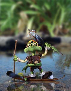 Plunder the Pirate Goblin by KomodoEmpire