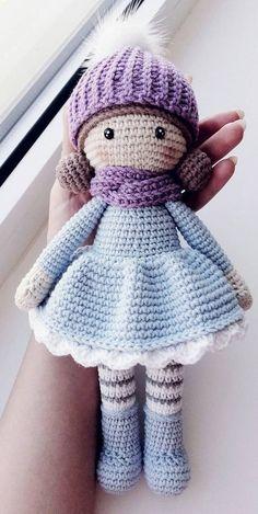 Awesome Free Amigurumi Crochet Pattern Ideas for This Year! Part 11 Awesome Free Amigurumi Crochet Pattern Ideas for This Year! Part amigurumi. Crochet Teddy Bear Pattern, Crochet Amigurumi Free Patterns, Knitting Patterns, Cute Crochet, Crochet Ideas, Knitted Dolls, Amigurumi Doll, Pattern Ideas, Pattern Design