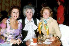 Three ironic women Jean Stapleton, Bea Author, Betty White