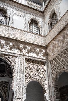 The Alcázar  & Gardens Seville, Spain