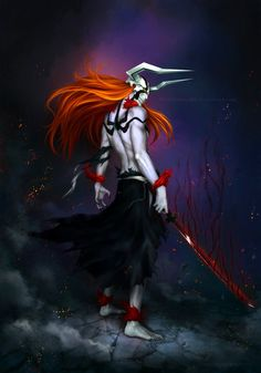 Ichigo - Hollow by Zetsuai89.deviantart.com on @DeviantArt