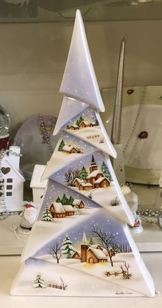 In this DIY tutorial, we will show you how to make Christmas decorations for your home. The video consists of 23 Christmas craft ideas. Primitive Christmas, Christmas Wood, Christmas Projects, Christmas China, All Things Christmas, Christmas Time, Winter Christmas, Christmas Interiors, Christmas Decorations