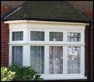 Box bay window under overhang house exterior pinterest for Box bay windows for sale