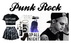 """""""Punk Rock"""" by beth-johnson ❤ liked on Polyvore featuring Samsung, Charlotte Russe, Repossi, Kora, ASOS and Kevyn Aucoin"""