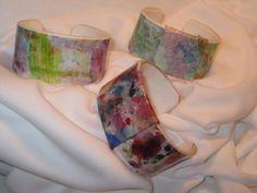 Durable Watercolor Paper Bracelets