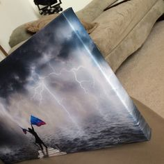 Canvas Gallery Wraps from Dyed4you Art