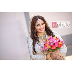 One piece indian wedding gown | Vancouver Wedding Photographer | www.jdphotos