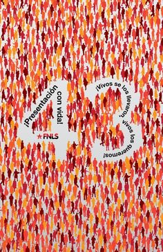 Se muestran 17 carteles que reflejan la situación grave de violaciones a derechos humanos en México, representando como denuncia social de un crimen de lesa humanidad como lo es la desaparición forzada