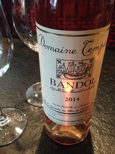 Bandol rose by Domaine Tempier.  Thank you KL!