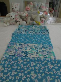 BN Sooo Pretty Liberty 100% Cotton Remnants x 5 For Qulting & Crafts